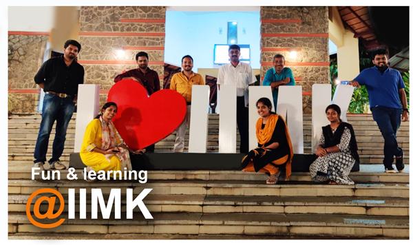 fun and learning at IIMK - team cmercury